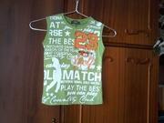 Продам красивую фирменную футболку на мальчика в отличном сост. р.104