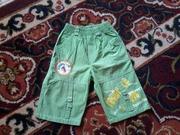 Продам красивые фирменные шорты на мальчика в идеальном сост., р. 110