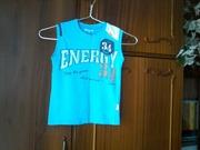 Продам красивую фирменную футболку на мальчика в очень хор. сост. р116