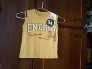 Продам красивую фирменную футболку на мальчика в отличном сост. р.110