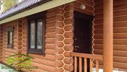 Утепление деревянных домов. Герметизация швов и заделка трещин в срубе