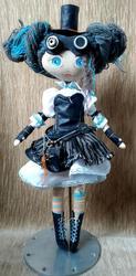 кукла в стиле стим-панк