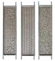 Формы для еврозаборов и заборов из бетона.